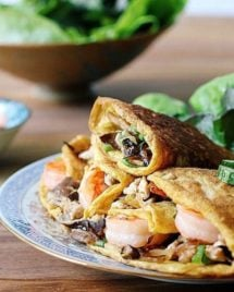Vietnamese Aromatic Egg Wraps