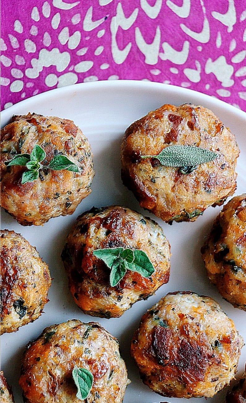 My Savory Breakfast Meatballs