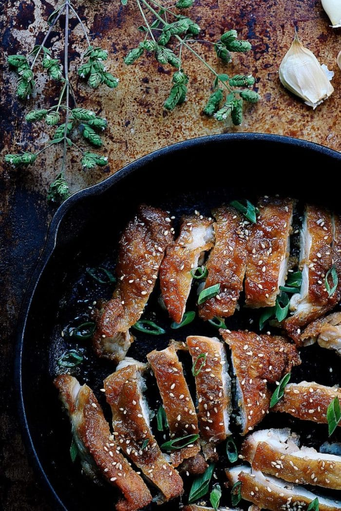 Crispy Teriyaki Chicken