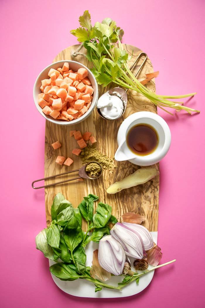 Herb blend for Creamy Coconut Milk Meatballs recipe Paleo Whole30 meatball recipe