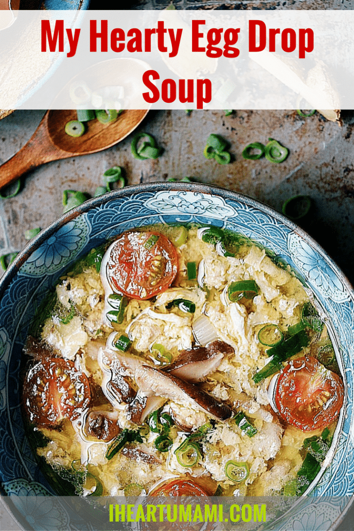 Paleo Hearty Chinese Egg Drop Soup. Paleo Egg Drop Soup. Whole30 Egg Drop Soup. Keto Egg Drop Soup. Paleo Chinese food. Paleo Asian food. IHeartUmami.com