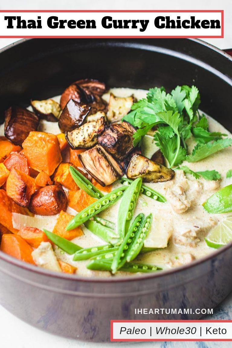 Thai Green Chicken Curry I Heart Umami