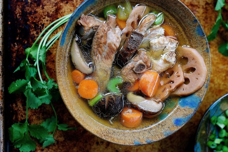 Chinese chicken sparerib soup recipe