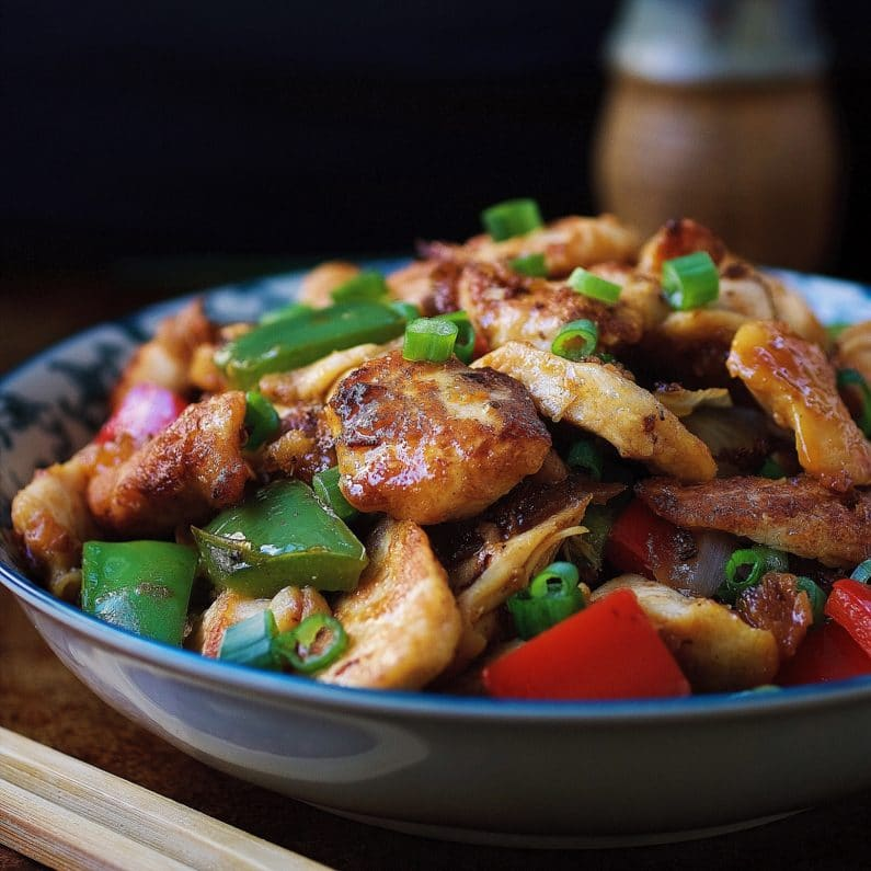 Paleo Sweet and Sour Chicken. Easy and quick Chinese Sweet and Sour Chicken recipe that's Paleo and Whole30 friendly. IHeartUmami.com