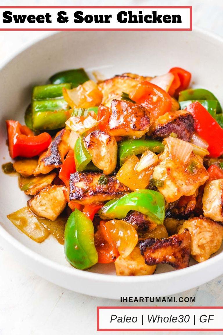 Paleo Sweet and Sour Chicken Stir-Fry Recipe