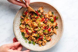 Kung Pao Chicken recipe (paleo, whole30, keto)