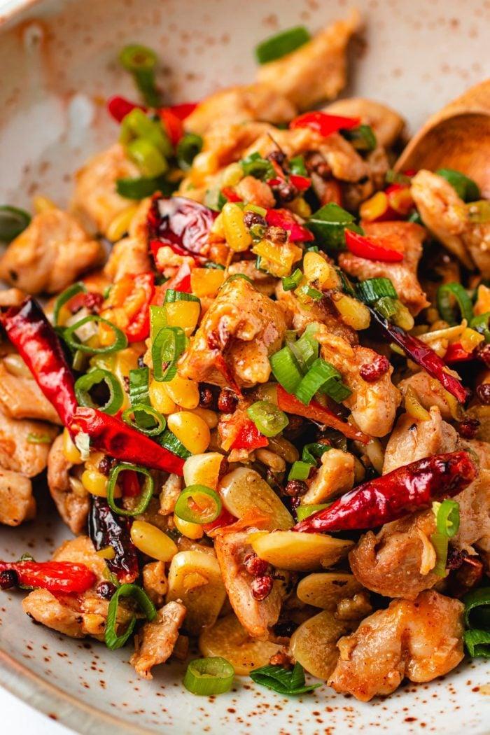 How to make kung pao chicken paleo