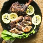 Japanese Roasted Lemon Chicken Legs recipe Paleo Whole30 Keto chicken recipe from I Heart Umami