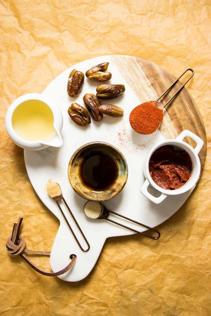 Paleo Gochujang Ingredients