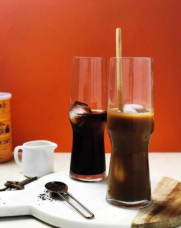 Healthy Paleo Vietnamese Iced Coffee with Dairy-Free Paleo Condensed Milk.