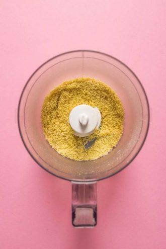 Paleo Cold Tofu Substitute with cashew nut flour