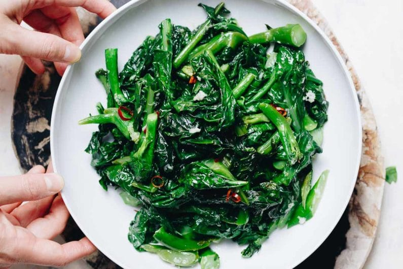 Easy Chinese Broccoli Stir Fry With Garlic Sauce I Heart