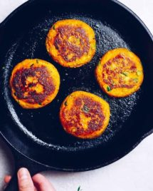 Paleo Sweet Potato Cakes recipe is the best leftover turkey or chicken recipe after thanksgiving.