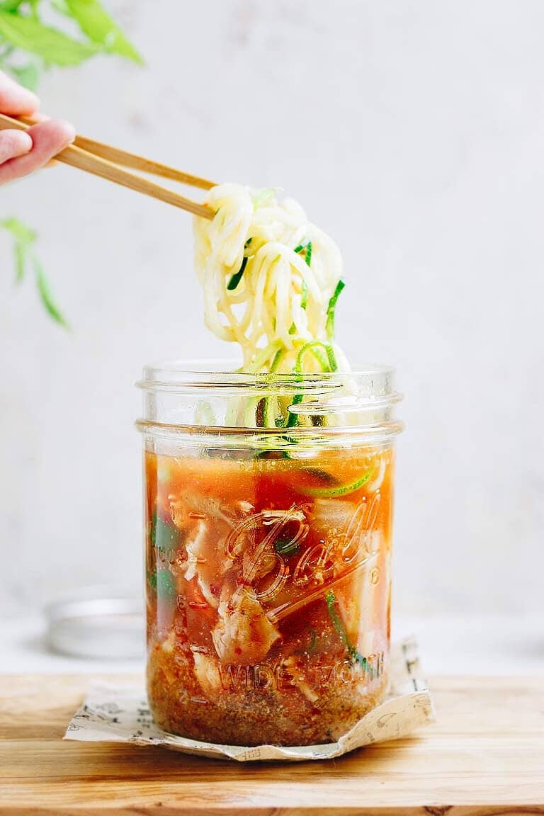Whole30 Cup Noodles recipe are healthy low carb better than maruchan cup noodles!
