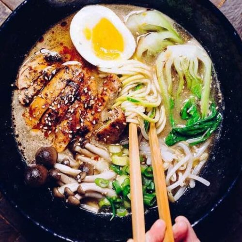 Whole30 Tantanmen Ramen (Paleo, Keto, Low Carb) | I Heart Umami®