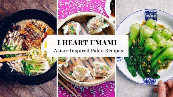 I Heart Umami Asian-Inspired Paleo, Whole30, and Keto recipes