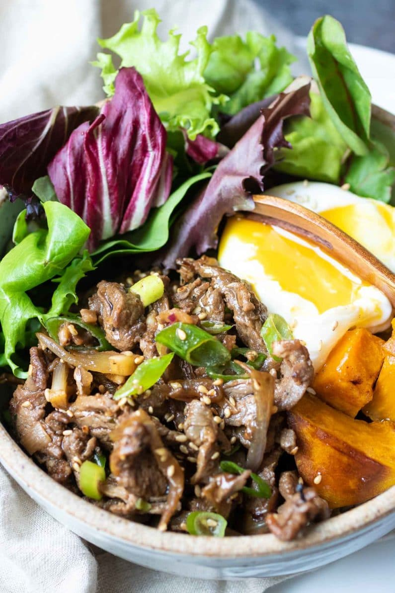 Whole30 Korean Beef Bowl Paleo Low Carb I Heart Umami