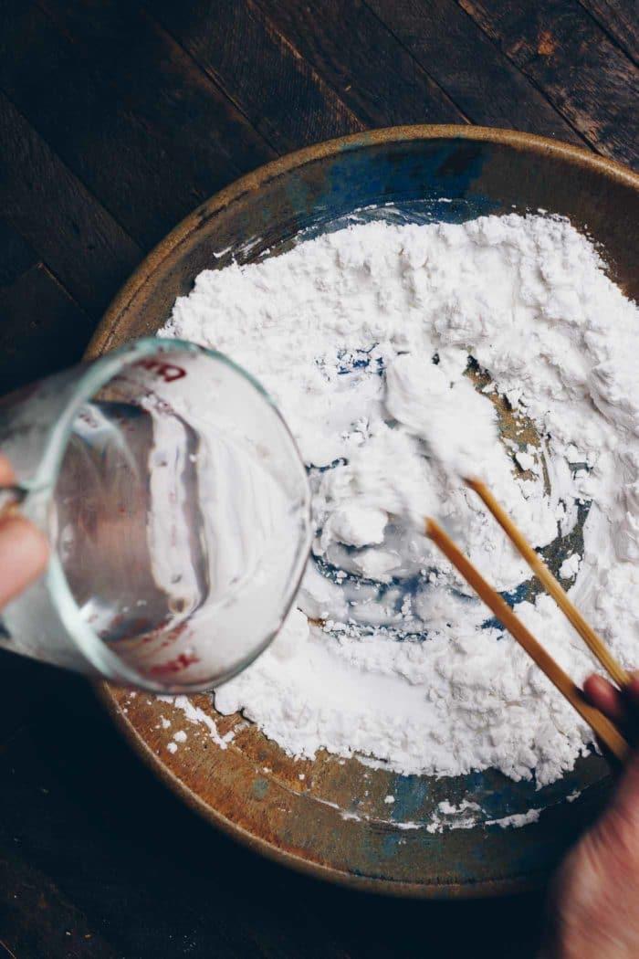 Paleo Gluten-Free Har Gow Dumpling Wrappers recipe is grain, gluten, and wheat-free from I Heart Umami.
