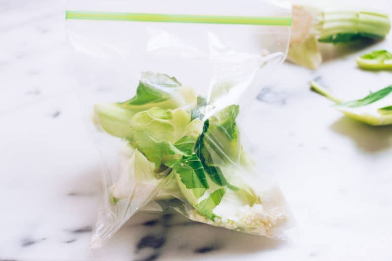 Paleo Roasted Cauliflower Recipe with tahini-lemon sauce from I Heart Umami.