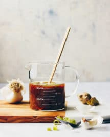 Gluten-Free Paleo Teriyaki Sauce Recipe is Whole30, Low Carb, and a great dipping sauce from I Heart Umami.