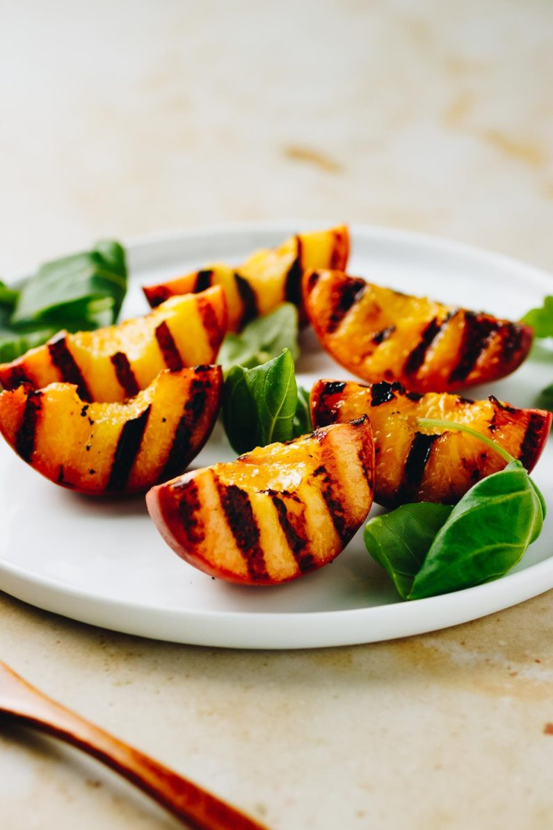 Grilled Fresh Peaches from I Heart Umami