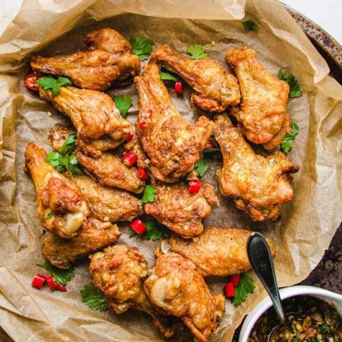 Thai Chicken Wings In Air Fryer Paleo Whole30 Keto I Heart Umami