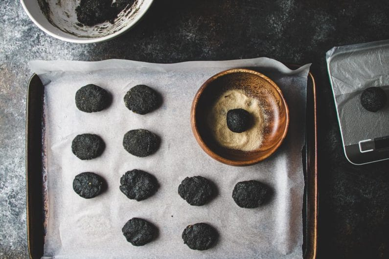 Black Sesame Susuwatari Cookies I Heart Umami
