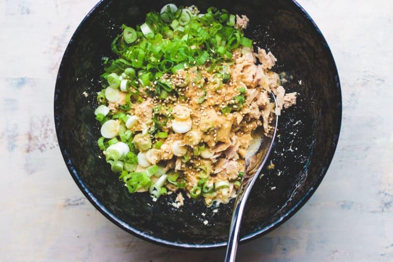 Whole30 Tuna Salad for Temaki Sushi