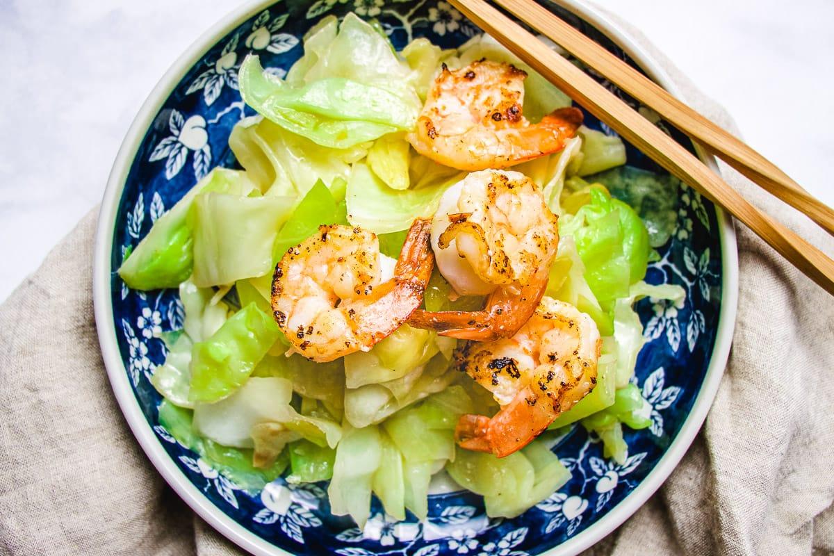 Sauteed Cabbage Gluten Free Paleo I Heart Umami