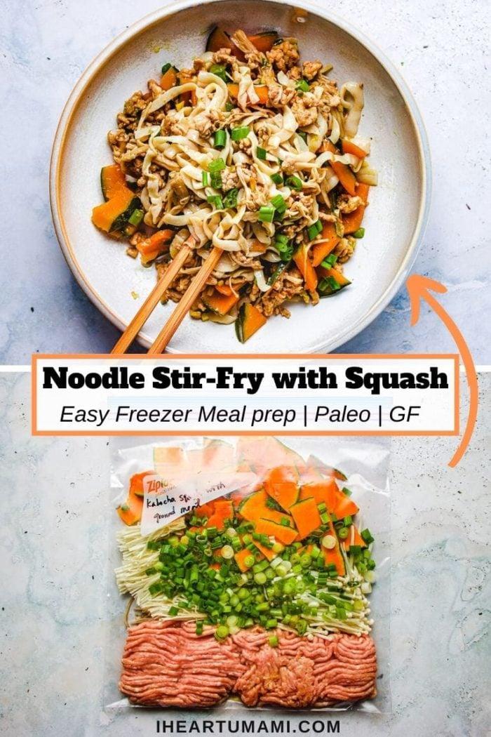 Freeze meal prep with kabocha squash I Heart Umami