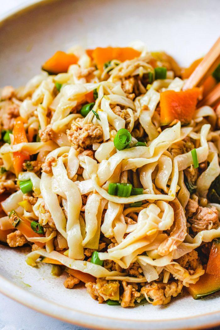 Kabocha Pumpkin Squash Noodle Recipe I Heart Umami