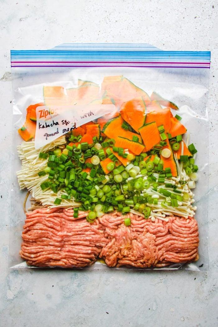 Meal Prep Kabocha Squash Freezer Friendly I Heart Umami