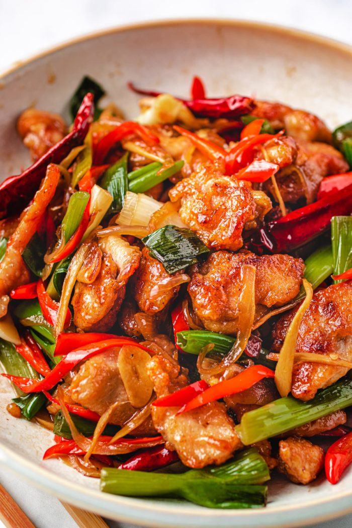 Mongolian stir-fry with Chicken recipe I Heart Umami