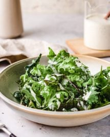 Whole30 ranch yogurt salad dressing from I Heart Umami