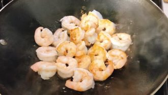 pan sear shrimp
