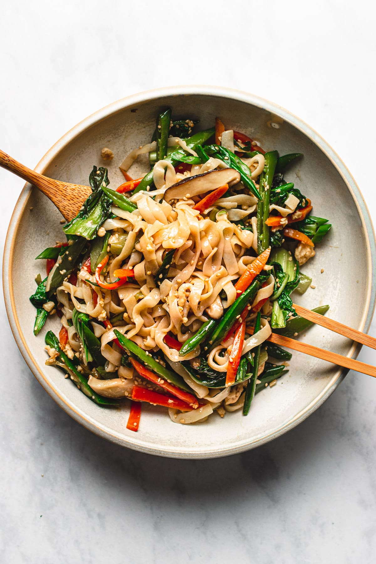 Low Carb Keto Lo Mein with Chicken I Heart Umami