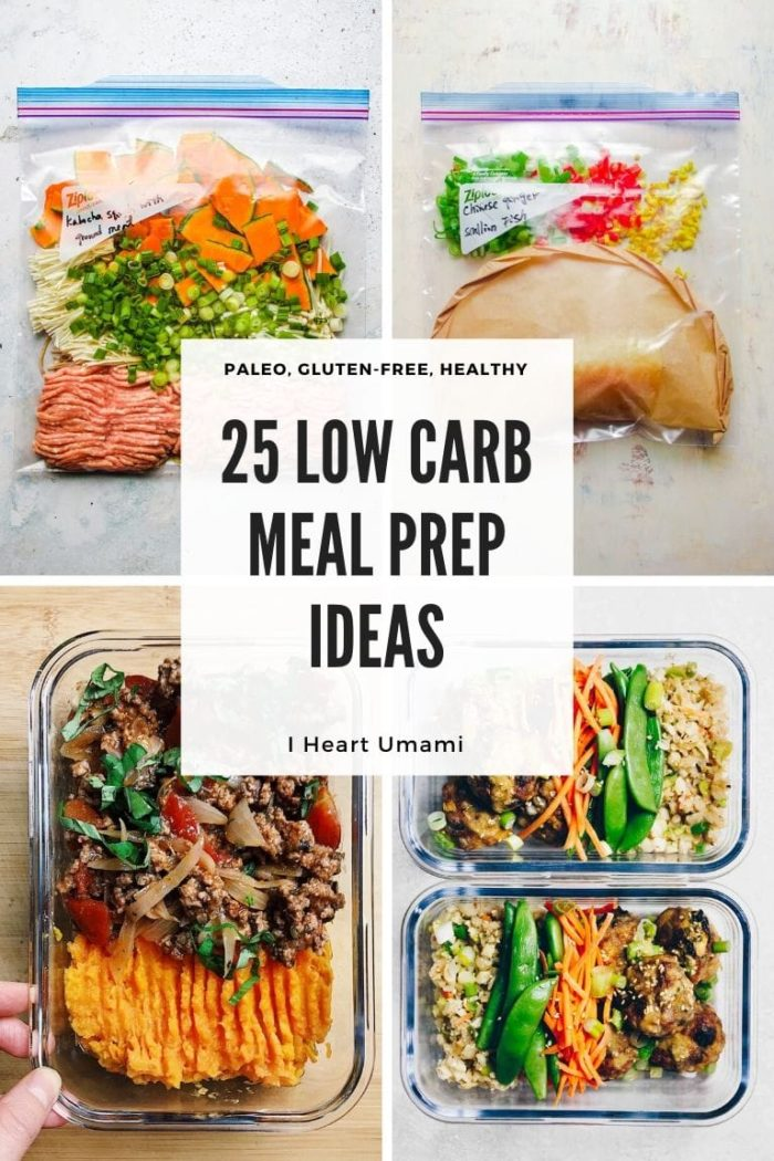 Healthy Freezer and Low Carb Meal Prep Recipe Ideas