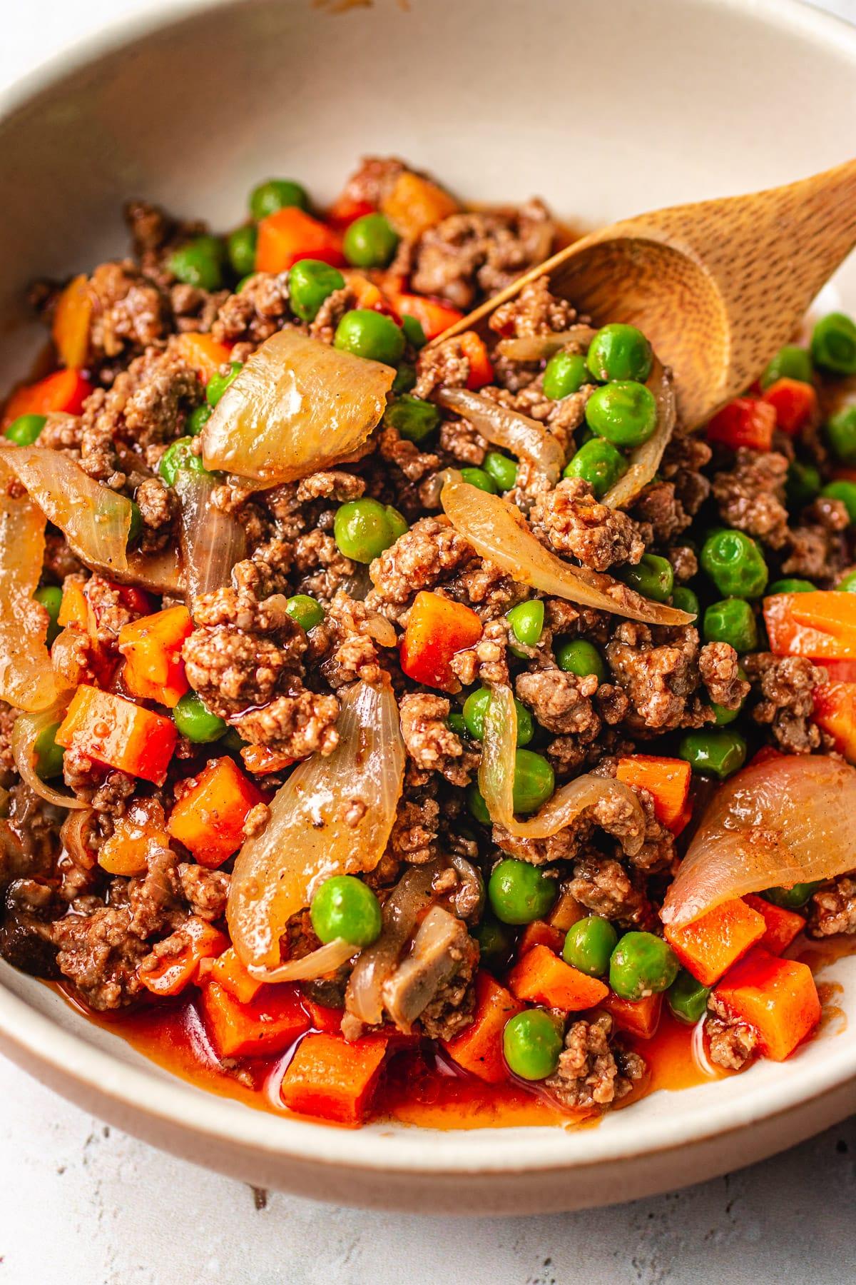 keto chopped steak recipes Easy Keto Ground Beef Recipe with Worcestershire  I Heart Umami®