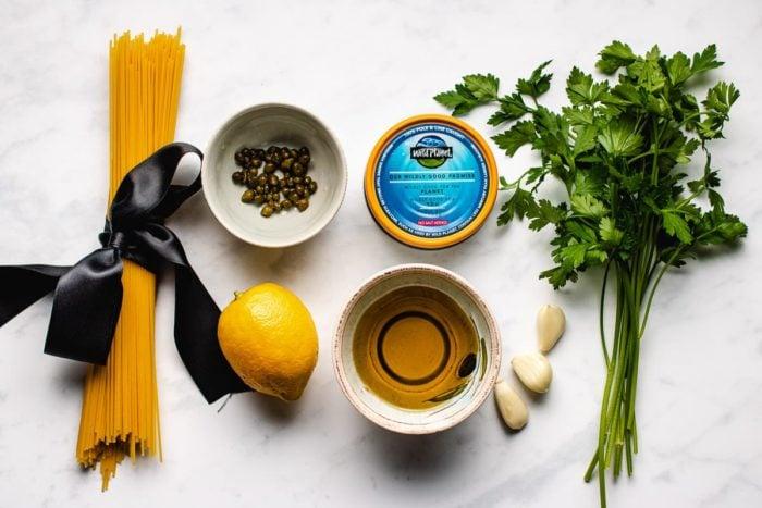 How to make tuna spaghetti canned I Heart Umami