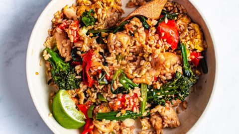 Low Carb Thai Fried Rice Shirataki Konjac Rice I Heart Umami