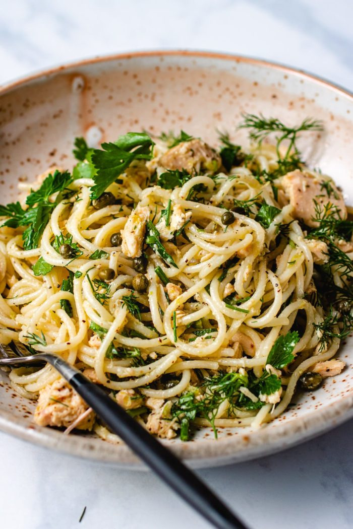 Tuna Spaghetti Recipe I Heart Umami