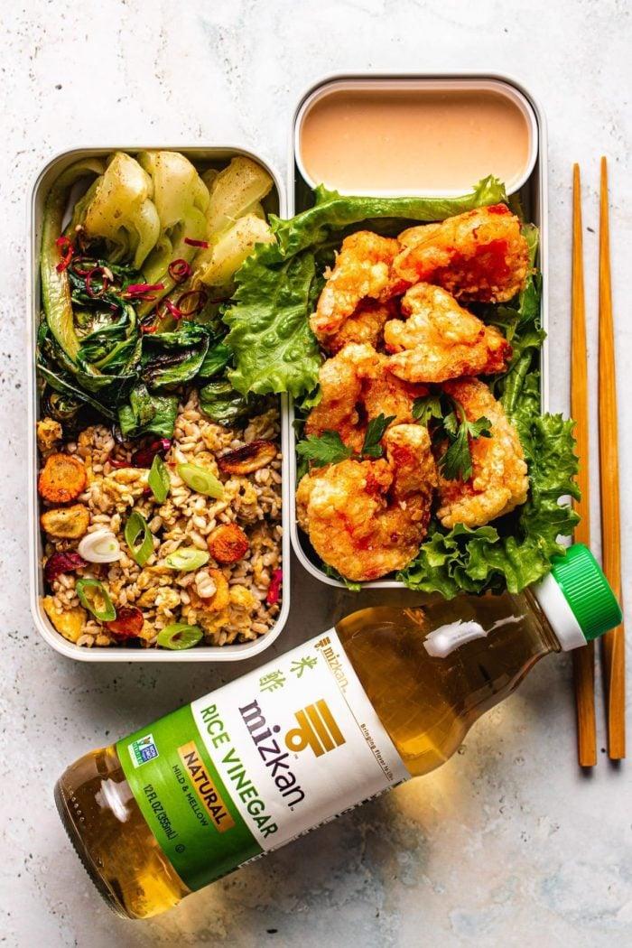 Bang Bang Shrimp bento box I Heart Umami