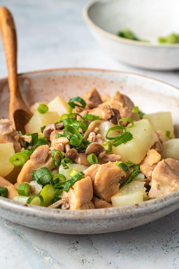 Healthy daikon recipe simmered with chicken I Heart Umami