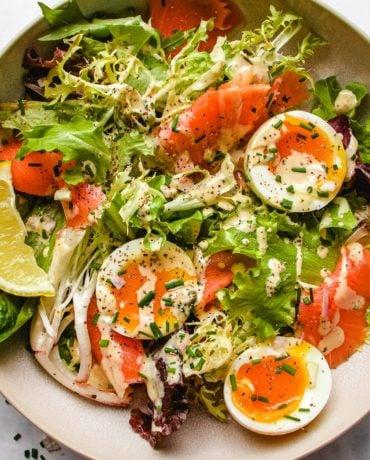 Smoked Salmon Salad Keto Recipe I Heart Umami