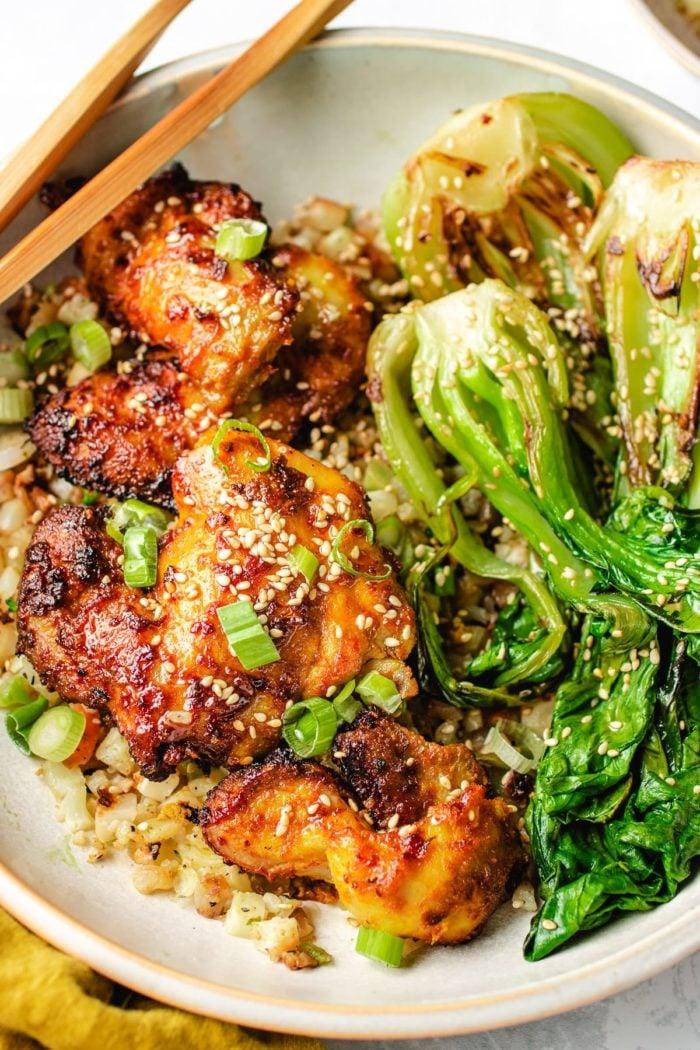 Air Fryer Thai Chicken Satay Recipe