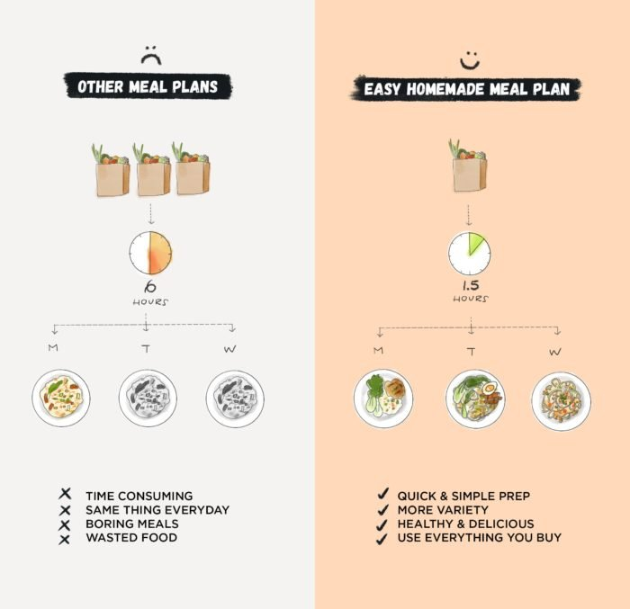 Easy Homemade Meal Plan vs Others