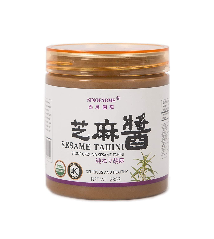 Chinese sesame paste used in dan dan mian