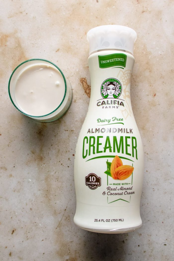 dairy-free creamer to make the mushroom sauce