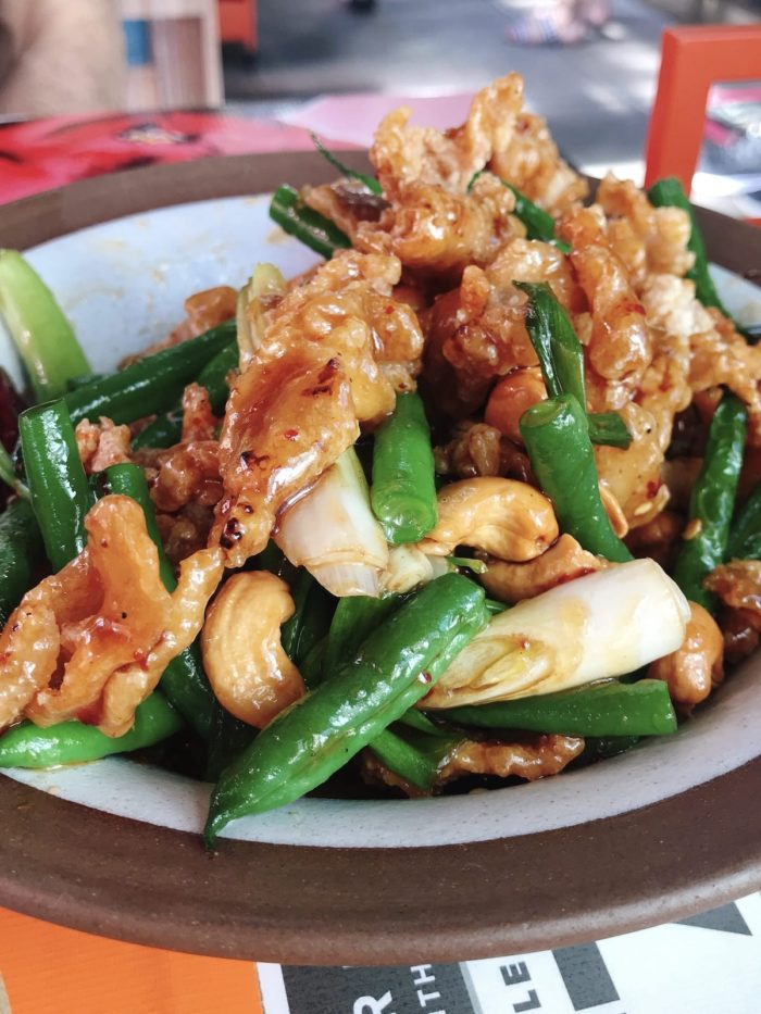 PaaDee's Thai Chicken Stir-Fry with Cashews and green beans